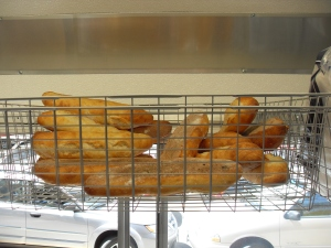 best baguettes in town! thanks, little t!