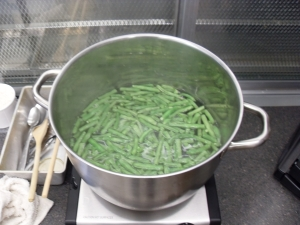 green beans for the side salad